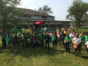 Ojibwe Forests Rally volunteers