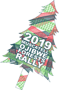 2019 Ojibwe Forests Rally logo
